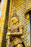 Gold titan Royalty Free Stock Photos