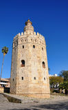 The gold tower, Seville Royalty Free Stock Image