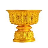 Gold tray Royalty Free Stock Images