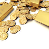 Gold treasure stock illustration