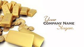Gold treasure Stock Photography