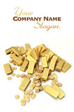 Gold treasure royalty free illustration