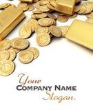 Gold treasure Stock Image