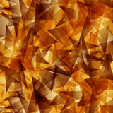 Gold triangle sharp overlapping vector Abstract background Stock Photo