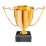Gold_trophy Stock Photography