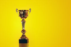 Gold Trophy Royalty Free Stock Photo