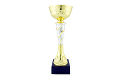 Gold trophy award Royalty Free Stock Image