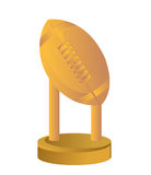 Gold Trophy Cup Football Stock Photos