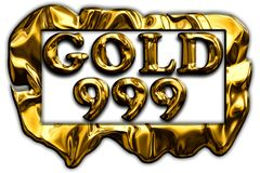 Gold 999 (TSS) Stock Image