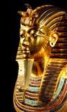 Gold Tutankhamun Statue Stock Images