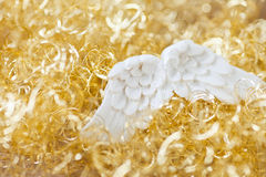 Gold twinkle christmas background Royalty Free Stock Photos