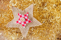 Gold twinkle christmas background royalty free stock photography