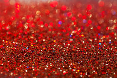 Gold twinkled background - christmas Royalty Free Stock Photos