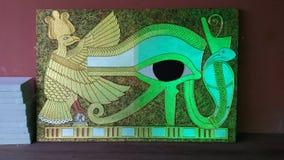 Gold-u. Silberägypten-Bild Lizenzfreies Stockfoto