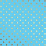 Gold und blauer Folien-Hintergrund Lizenzfreies Stockfoto
