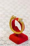 Gold und Diamant Lizenzfreies Stockbild