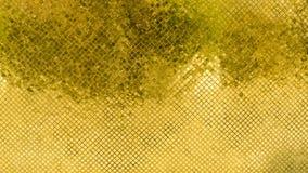 Gold und Fliesen des gelben Mosaiks Lizenzfreies Stockfoto