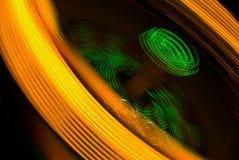 Gold und Grün Stockfoto