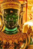 Gold- und Jade Buddha-Statue Lizenzfreies Stockfoto