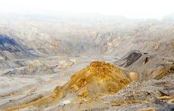 Gold- und Kupferbergbau lizenzfreie stockfotografie