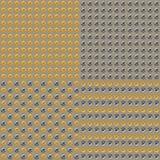 Gold-und Silber-Metallball-Hintergrund Stockbilder