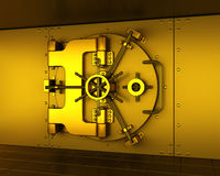 Gold vault Stock Photos