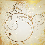Gold vector background Stock Photo