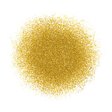 Gold vector template with grain texture. Can be used for advertisement, web, marketing, sites, graphic design, editable. Gold vector template with grain texture Royalty Free Stock Photos