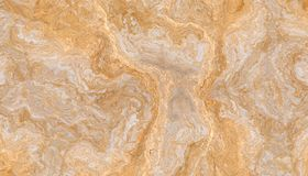 Gold Vein Marble Stone. Beautiful closeup gold marble with detailed golden veins texture. 2d illustration stock image