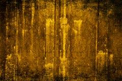 Gold velvet wallpaper. Grungy velvet wallpaper with a Baroque pattern stock illustration