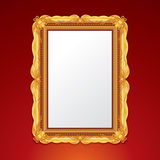 Gold Vintage Frame Royalty Free Stock Photo