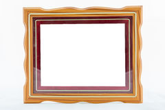 Gold vintage frame. Elegant vintage gold/gilded picture frame wi Stock Photo