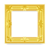 Gold Vintage Frame. Stock Images
