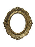 Gold vintage frame for gobelin Royalty Free Stock Photography
