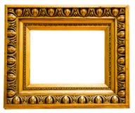 Gold vintage frame Royalty Free Stock Images