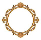 Gold vintage frame Stock Photos