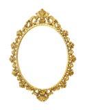 Gold vintage metal frame Stock Image