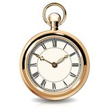 Gold vintage watches Stock Images