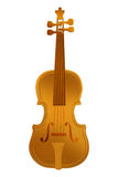 Gold Violin Stock Photo