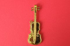 Gold Violin Stock Photos