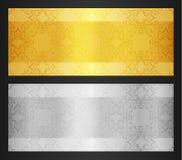 Gold VIP Club Card Royalty Free Stock Photo