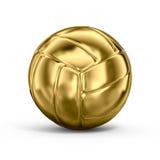 Gold volleyball stock illustration