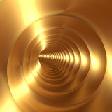 Gold Vortex Abstract Background Stock Images