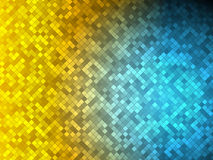 Gold vs blue Royalty Free Stock Photography