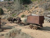 Gold wagon Royalty Free Stock Photo