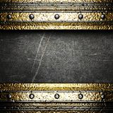 Gold on the wall Royalty Free Stock Photography