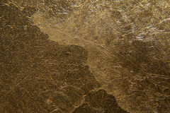 Gold wall Royalty Free Stock Photo