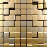 Gold wall Royalty Free Stock Photography