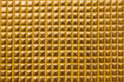 Gold wall texture Royalty Free Stock Photo