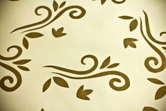 Gold wallpaper. Royalty Free Stock Photos